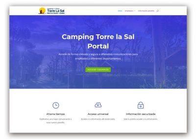 Portal Camping Torre La Sal